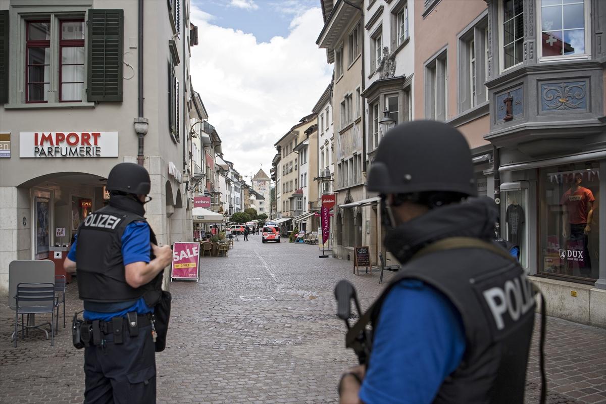 İsviçrede elektrikli testereli saldırı: En az 5 yaralı
